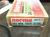 NORMA AMMUNITION Ammunition 243